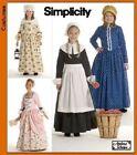 Simplicity Dress Costumes Patterns