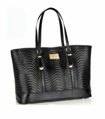 VERSACE BLACK WOMEN'S LARGE BAG With dust bag. Large.