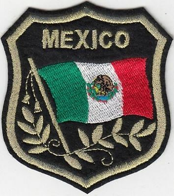 Mexico Flag Patches, International Flag Patches, Biker Patches, Flag Patches