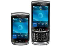 BLACKBERRY TORCH 9800 - Black - (UNLOCKED) Mobile smartphone -