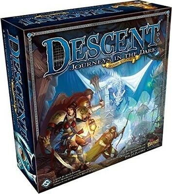 Descent Journeys in the Dark (Second Edition) [New Games] Board Game](Games In The Dark)