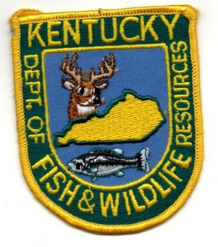 Fish wildlife patch ebay for Kentucky fish and game