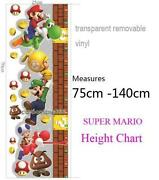 Boys Height Chart