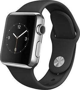 Apple Watch Sport 42mm (Black Sport Band and Space Gray)