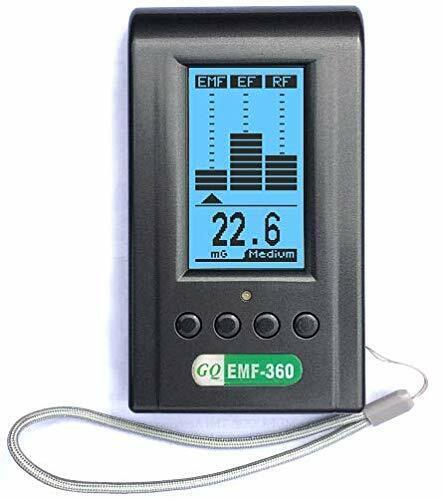 Advanced GQ EMF-360 V2 Multi-Field 3-in-1 Electromagnetic EMF EF RF Meter Ghost