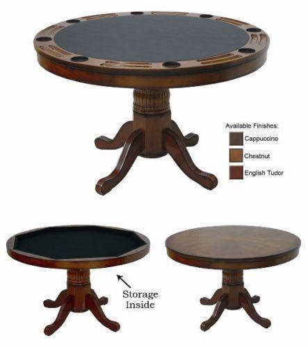 Wood Poker Table | EBay