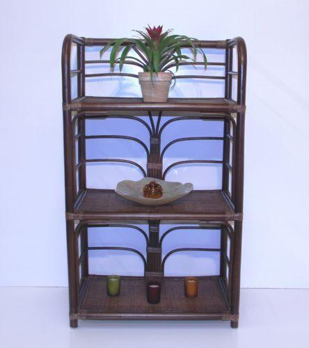 Wicker Bookcase Ebay