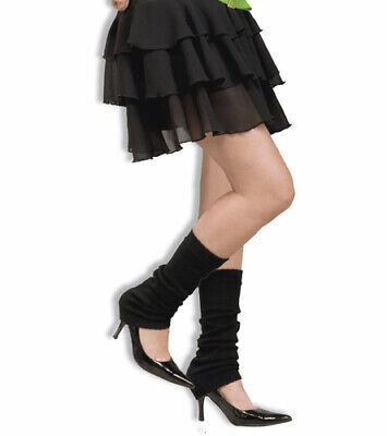 80's Black Leg Warmers Halloween Costume Accessory - Halloween Leg Warmers