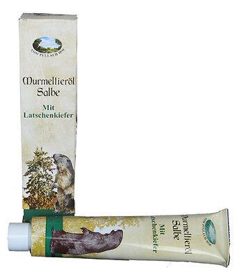 12x 200ml Murmeltieröl Salbe Murmeltier Öl mit Latschenkiefer Pullach Hof Tube ()