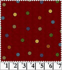 Flannel Polka Dot Craft Fabrics