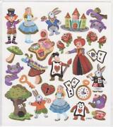 Alice in Wonderland Stickers