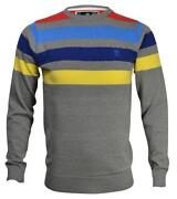 Mens Striped Jumper