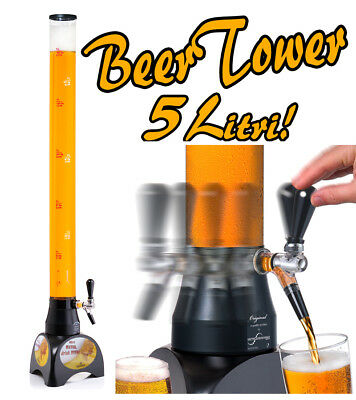 SPILLATORE BIRRA A COLONNA DA TAVOLO PER PUB 5 LITRI - BEER TOWER XL DISPENSER