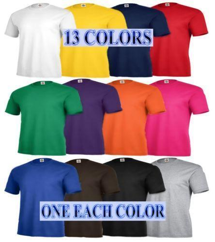 Wholesale Plain T Shirts Ebay