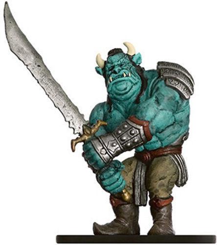 D&D Mini - ONI #11 Ogre Magi!! (Dungeons of Dread Series - RARE and UNUSED!!)