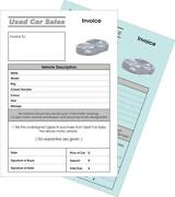 Car Sales Invoice