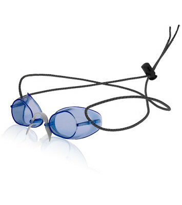 Swedish Swim Goggles- Antifog -Color BLUE -Bungee Strap (NEW IN BAG!) ()