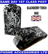 Blackberry Torch 9860 Leopard Case
