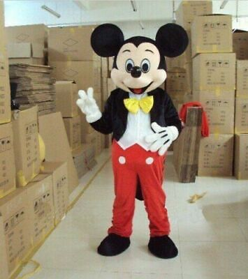 Mickey Mouse Mascot Costume Cartoon Cosplay for Birthday Party Celebration Sale - Cosplay Costume For Sale