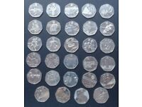 *RARE* Complete Full Set Of London 2012 Olympic 50p Coins - 29 Coins