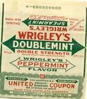 Wrigleys Gum Wrapper