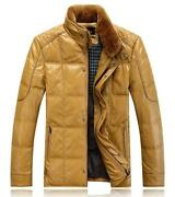 Mens Leather Jacket Collar