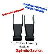 Lowering Shackles