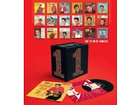 """ELVIS - RARE LIMITED EDITION NUMBERED BOXSET - 18 CD Singles """"18 UK #1's"""" (2005)"""