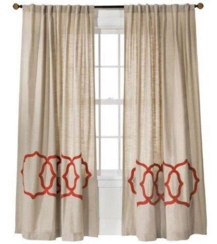 Coral Curtains Ebay