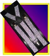 Glitter Suspenders