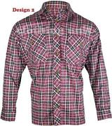 Mens Checked Shirt XXL