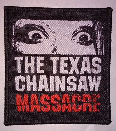 HORROR PATCH - The Texas Chainsaw Massacre - iron on