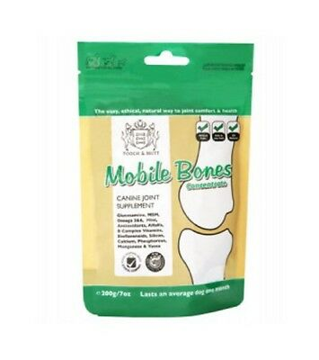 Glucosamine Hcl, Msm (Pooch & Mutt Mobile Bones 200g Concentrate Glucosamine HCL MSM Omega 3 6)