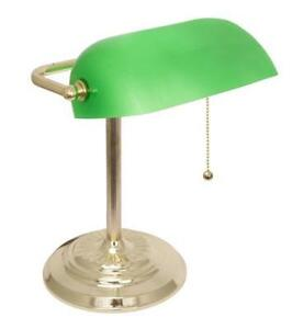 Br Bankers Lamps