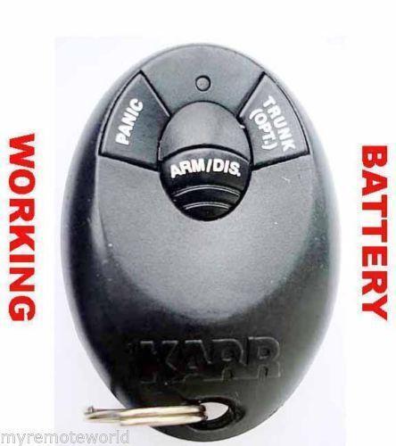 Karr Car Alarm Remote Battery
