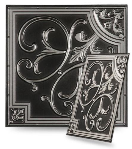 Faux Tin Ceiling Tiles EBay Magnificent Decorative Ceiling Tiles Coupon