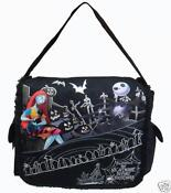 Nightmare Before Christmas Messenger Bag