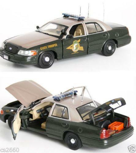 Police Car Ford State Diecast Road