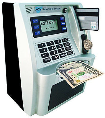 Money Safe With Slot For Kids Children ATM Bank Card Cash Deposit Savings Gift 1