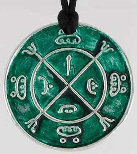 Circle of Protection Amulet, Talisman, Pendant Necklace!