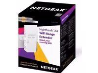 NETGEAR Nighthawk 2200 Mbps X4 Dual Band WiFi Wall Plug Range Extender Booster