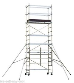 Scaffold tower - 5.1 m - Aluminium