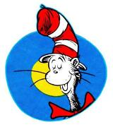 Cat in The Hat Iron On