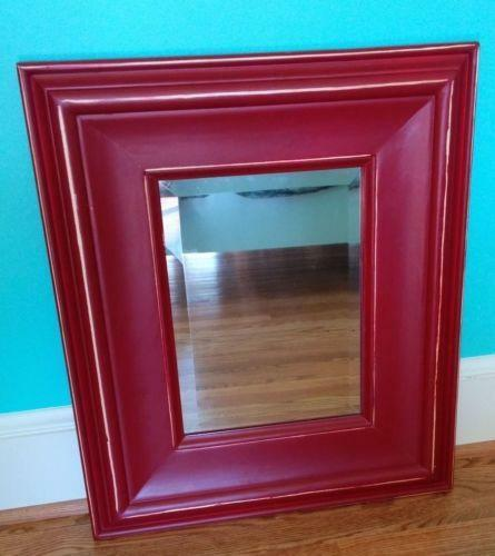 Rustic Wood Mirror Ebay