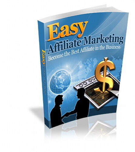Easy AFFILIATE MARKETING - How to be Successful As Internet Online Marketer (CD)