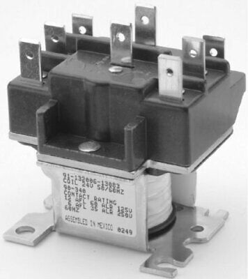 Packard Pr340 Dpdt 24 Volt Coil Switching Relay