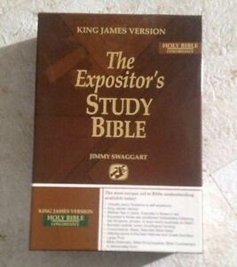 The Expositor's Study Bible : Giant Print Edition by Jimmy Swaggart (2006, Book…