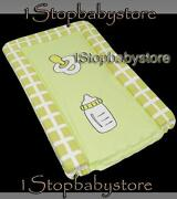 Green Baby Changing Mat