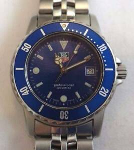 TAG Heuer 1500 Professional 200m Watch Ref: WD1214-G-20 LIKE NEW Sydney City Inner Sydney Preview