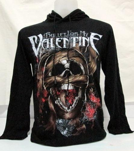 Bullet For My Valentine Temper Temper Black Zip Up Sweatshirt Hoodie